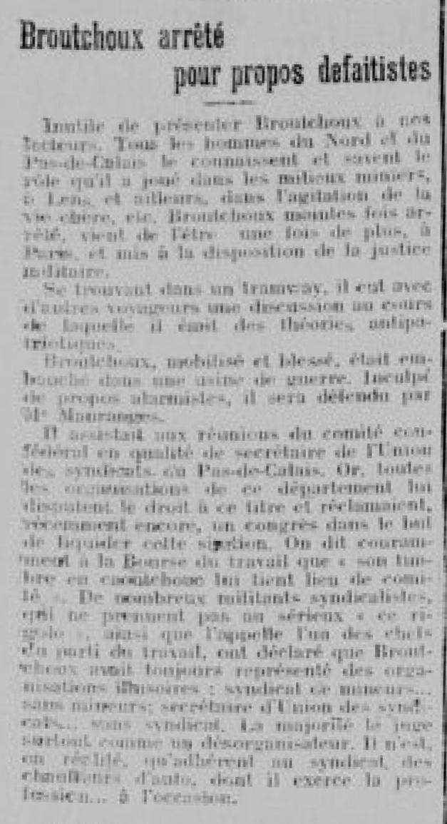 Bulletin des réfugiés du département du Nord. 1918/04/13.